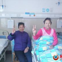 白發姐妹花住醫院卻開笑口只因為